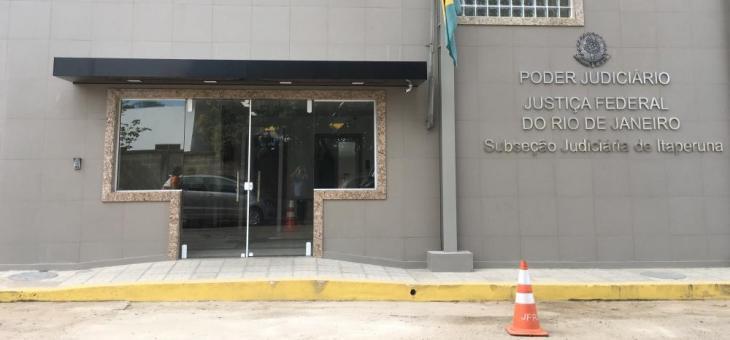 Nova sede da Justiça Federal de Itaperuna