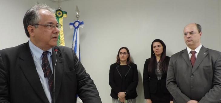 Magistrados federais André Fontes, Helena Elias, Cristiane Chmatalik e Wilson Witzel
