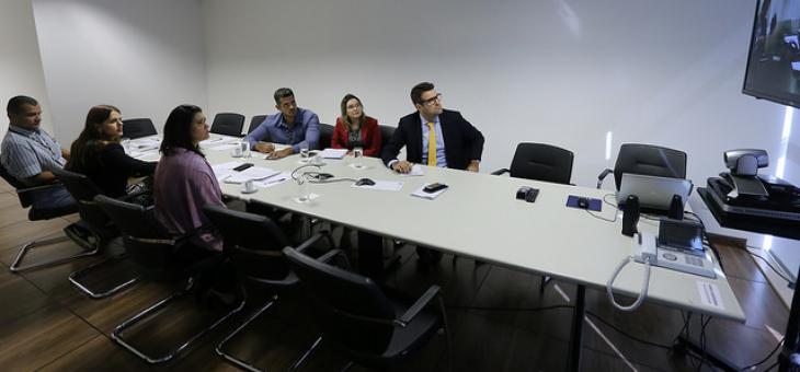 Videoconferência com coordenadores da Justiça Federal da Rede de Governança Colaborativa do Poder Judiciário para formulação das Metas Nacionais para 2019