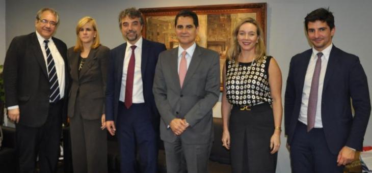 André Fontes, Ana Tereza Basílio, Pier Fillippo Giuggioli, Agostinho Teixeira, Carmen Silvia e Adriano Curti