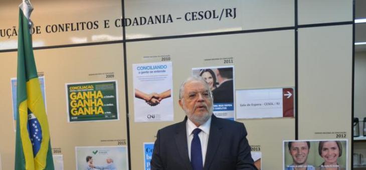 Desembargador Federal Ferreira Neves, Diretor do Núcleo Permanente de Métodos Consensuais de Solução de Conflitos