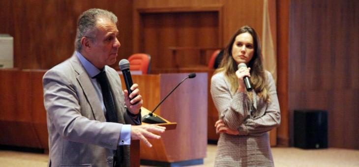 Os juízes federais José Eduardo Nobre Matta e Débora Valle de Brito, da 9ª Vara Federal Criminal