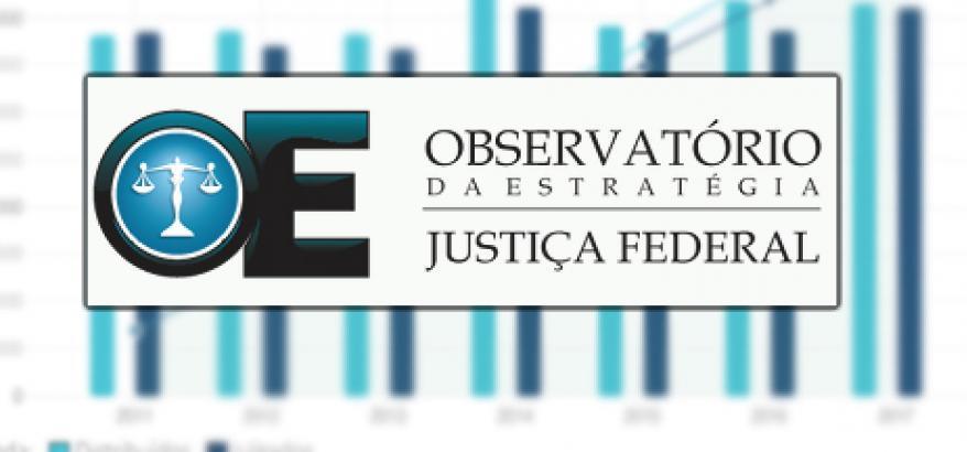 O Observatório da Estratégia da Justiça Federal é uma iniciativa destinada a acompanhar, monitorar, motivar e comunicar as ações vinculadas à estratégia da Justiça Federal