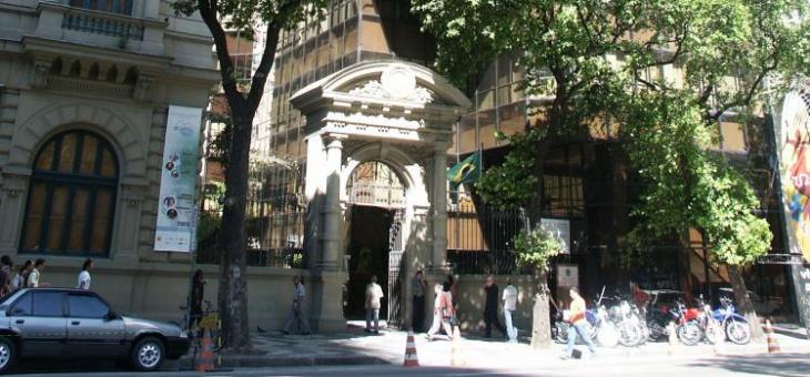 Imagem da fachada do Foro da Av. Rio Branco
