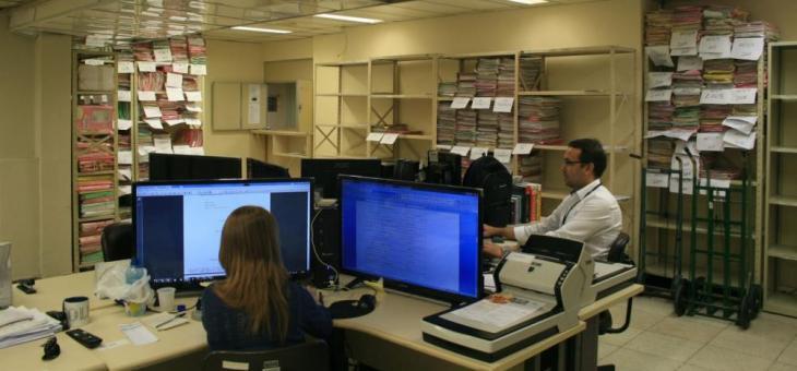 Servidores fazem a indexação e classificação das peças processuais