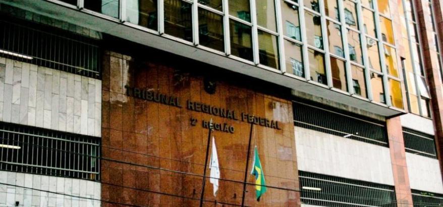 Fachada do prédio do Tribunal Regional Federal da 2ª Região