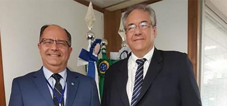Desembargador federal André Fontes recebe visita do presidente do ... 0cae341ccb