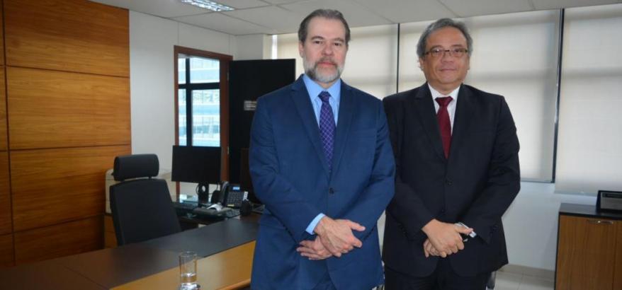 Dias Toffoli e Luiz Paulo Silva Araújo Filho