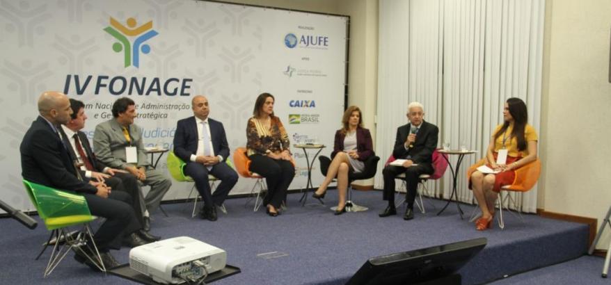 """Justiça Federal capixaba sedia IV Fonage e ganha prêmio """"Boas Práticas"""" da Ajufe*"""