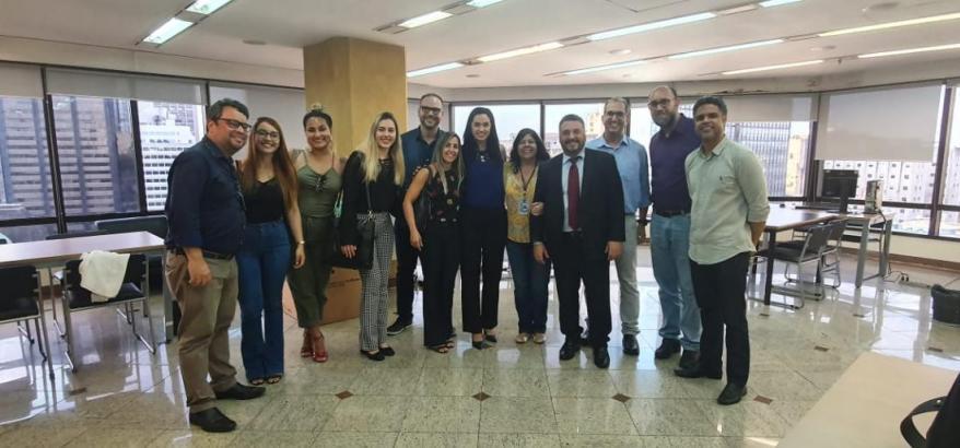 Equipe do NPSC2, procuradores e estagiários da OAB/RJ