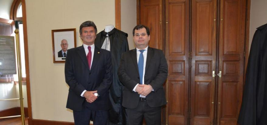 Luiz Fux e Francisco Prehn Zavascki