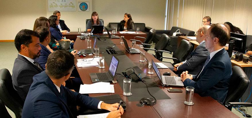 Primeira reunião do Grupo de Trabalho designado para apresentar estudos sobre a unificação de critérios para expedição de certidão negativa no âmbito da Justiça Federal