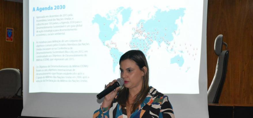 Juíza Federal Priscilla Correa.