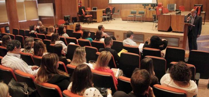 Renato Pessanha, diretor do foro da JFRJ, abre o Encontro de Diretores 2016
