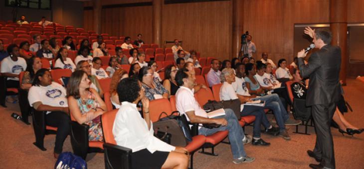 Agentes comunitários de diversas regiões da capital fluminense participaram do encontro