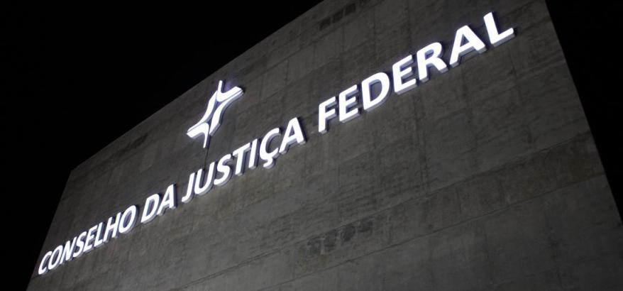 Fachada do Conselho da Justiça Federal