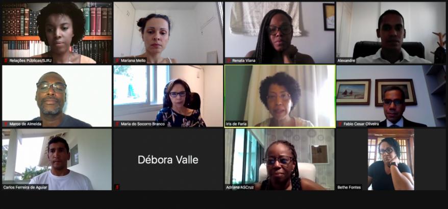 Integrantes do GT debatem possíveis propostas para combater o racismo estrutural