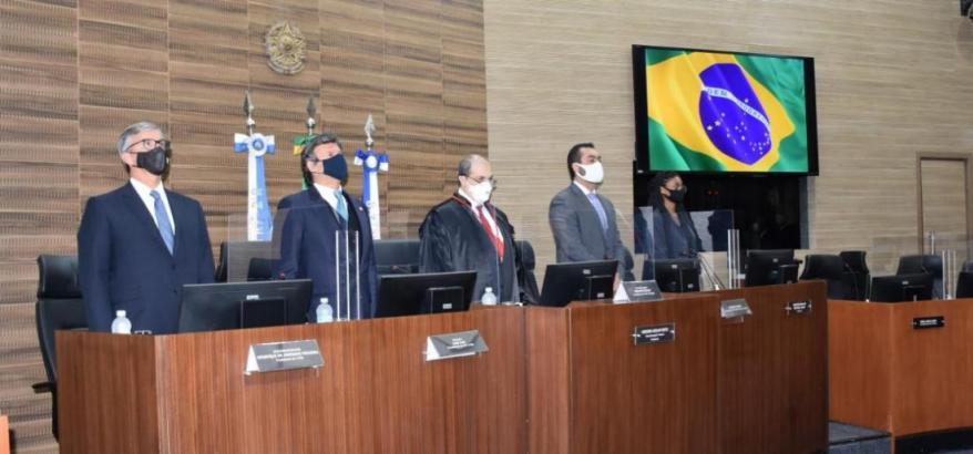 Henrique Carlos Figueira, Luiz Fux, Messod Azulay e Cláudio Castro