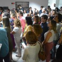 Servidores prestigiam cerimônia de inauguração das instalações