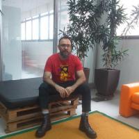 O servidor Júlio Probo foi responsável pelo layout e concepção artística do Espaço