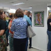 Galeria exibe obras de servidor da casa e atrai muitos colegas